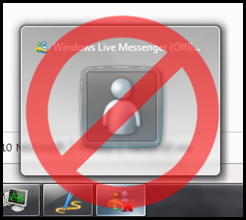 Stop Windows Live Messenger from starting randomly on its own.