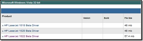 Windows Vista Drivers: 1022, 1022n, 1022nw