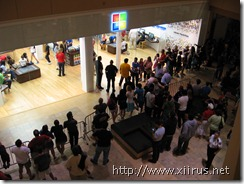 Microsoft Store (Fashion Square Mall): From Above