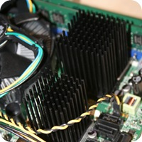 Custom Windows Home Server Passive Heatsink Intel DQ45EK ICH Q45