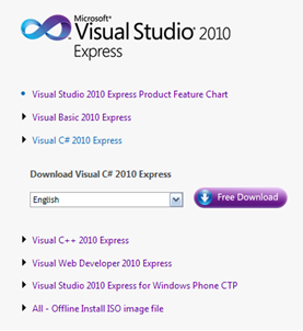 Visual Studio 2010 Express