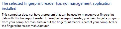 AuthenTec AES1610 Fingerprint Reader Software for Windows 7